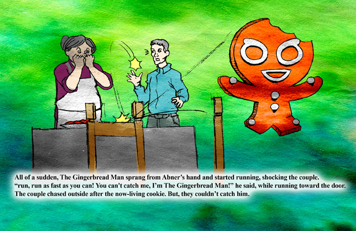 The Gingerbread Man page 8
