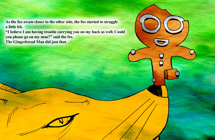 The Gingerbread Man page 20