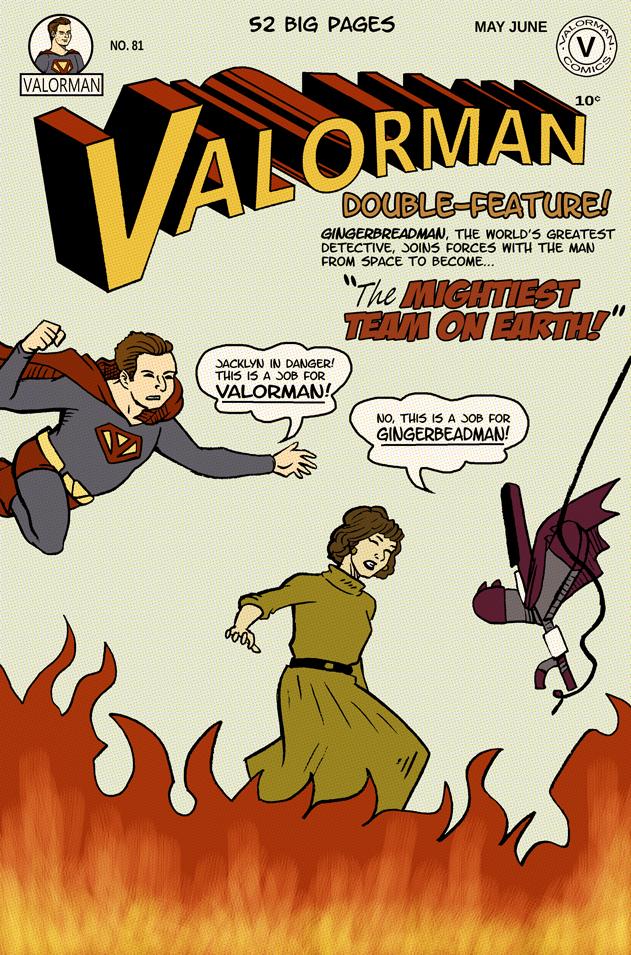Valorman #76 cover(fake)